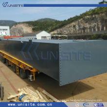 Pontón de barco de acero para dragado y construcción marina (USA010)