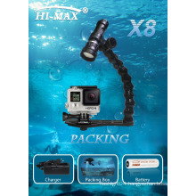 High Quality scuba diving equipment for diving lamp led video light