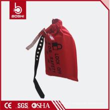 Sac de verrouillage du contrôleur de conduite résistant à l'usure avec étiquettes d'avertissement BD-D71