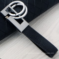Business Blake Leather Men Keychain Double Rings New Look metal Keychain
