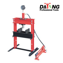 10TON HYDRAULIC SHOP PRESS WITH GAUGE