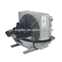 hydraulic oil cooler for concrete pump