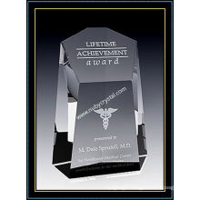 Crystal Award Centurion Tower for Army 7.5 Inch Tall (NU-CW760)