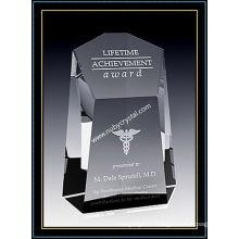 Кристаллическая премия Центуриона башня для армии 7,5 дюймов в высоту (ну-CW760)