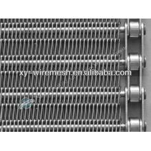 Bande de convoyage en treillis métallique en acier inoxydable haute résistance (hengqu factory)