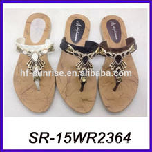 pvc indian sandal shoes girl nude beach slippers shoes women summer sandal