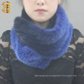 Womens New Style Colorful Real Mink Fur Scarf Neck Scarf