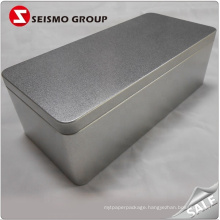 Custom shape size Rectangular Tin Box For Cookie Tea Caja De Lata Metal Packaging Tin Box