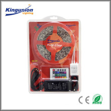 Kingunionled Manufacturer Blister Package DC12V Led Strip Kit with RGB remote controller and female end