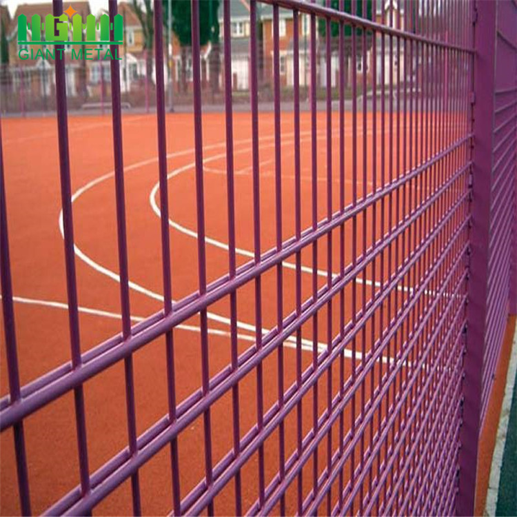 Mudah dipasang Double Welded Wire Fencing