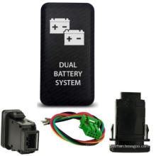 Toyota Push Switch Dual Battery System Symbol Dual LED Light Push Switch