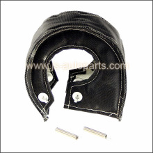 T3 BLACK TURBO CHARGER HEAT SHIELD BLANKET FIBER