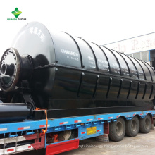 Quick Installation Used Waste Tire Plastic Pyrolysis Equipment To Heavy Fuel Oil With CE,SGS,ISO