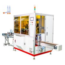 Máquina de serigrafia automática de 2 cores de tubos de centrífuga UV com montagem de tampa