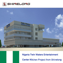 Nigeria Twin Waters Entertainment Center Küchenprojekt von Shinelong