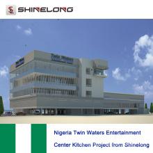 Proyecto de cocina del centro de entretenimiento Twin Waters de Nigeria desde Shinelong