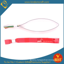 Factory Price Hot Sale Festival Woven Wristbands for Souvenir in High Quality