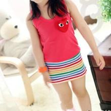Summer Colorful Dress for Girl
