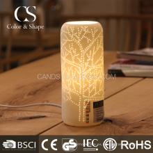 Lámpara de mesa popular del modelo del árbol de la forma del florero de la decoración casera