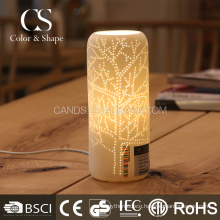 Home decoration popular vase shape tree pattern table lamp