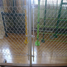 Sistem Vinyl Hitam Diamond Sports Ground Chain Link Fence