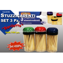 Bamboo toothpick set ON SALE