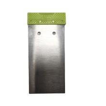 50# Carbon Steel  50mm  Putty Knife  Scraper Green Color PP Handle Paint Scraper