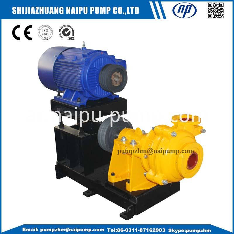 008 Zvz Belt Drive Slurry Pump