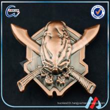 sedex 4p copper skull belt buckle
