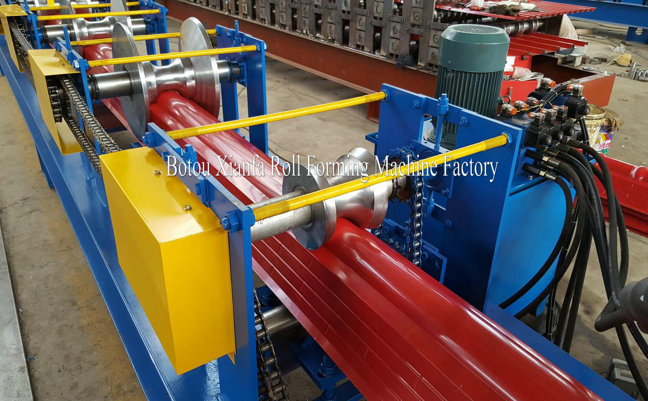 ridge tile machines