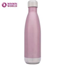 Малое moq питьевой 500мл Колы форме двойной стенкой изолированы нержавеющей бутылки воды