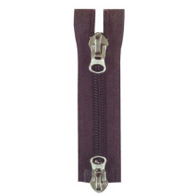 #10 Two Way Auto Lock Nylon Zipper