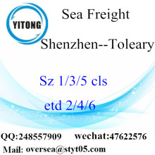 Shenzhen Port LCL Consolidatie naar Toleary