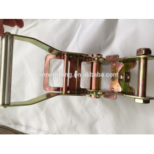 2'' Aluminum Standard Ratchet Buckle with two spring and gear