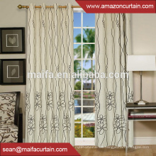 Fabrik Custom fancy billig Fenster Vorhang Polyester Stoff Textil