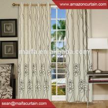 Fábrica Costume fantasia barata janela cortina tecido de poliéster têxtil