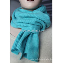 100% Kaschmir gestrickter Schal