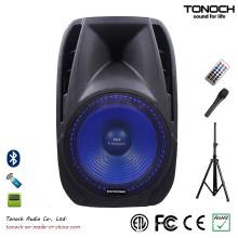 Professional 15 polegadas PA Speaker com anel de LED azul (PH15UB)