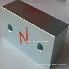 Block Neodymium Magnets for MW Wind Generator