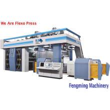 Máquina de impresión flexográfica por satélite