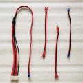 Cabo de alimentação para tela de display LED 2x1.5mm vermelho preto
