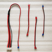 Cabo de alimentação para tela de LED 2x1.5mm vermelho preto
