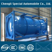 Recipiente a presión con contenedor ISO LPG, Contenedor con tanque LPG ISO