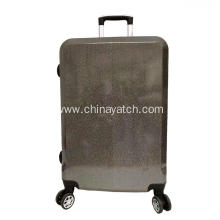 starry eyecatching shinny pc luggage set