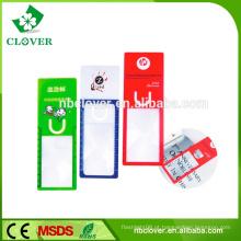 Promoção acessórios de plástico portátil marcador magnifier