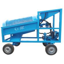 Beach Sand Processing Plant Alluvial Gold Trommel Machine