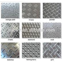 Plaque à damier en aluminium de haute qualité Jinzhao 1100 3003 5052