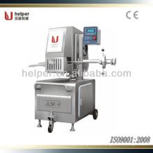 Hot-sale Automático de alumínio fio máquina de corte duplo para fábrica de salsicha