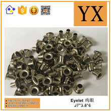 Bag accessories Metal shoe eyelets for shoes and garment