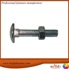 China for Round Head Bolts DIN603 Mushroom Head Square Neck Carriage Bolt export to American Samoa Importers